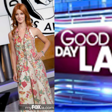 GoldDust Dresses on Good Day LA